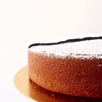 Cake ai limoni di Amalfi, mandorle dolci e vaniglia del Madagascar